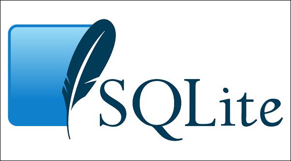 The SQLite database management software.