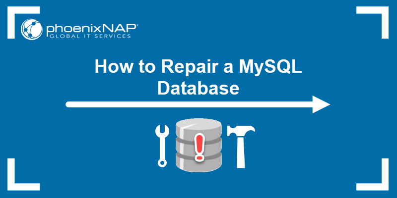 How to Repair a MySQL Database