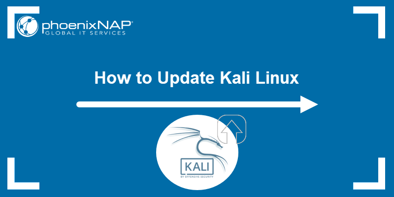 How to update Kali Linux.