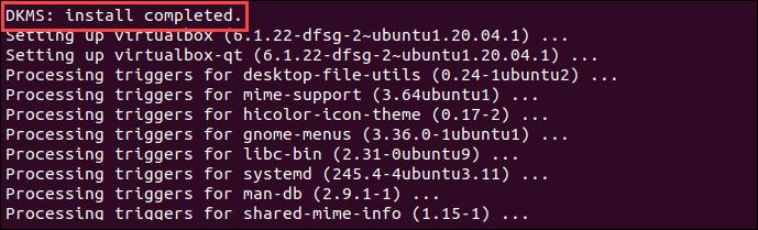 Install VirtualBox on Ubuntu from Ubuntu repository.