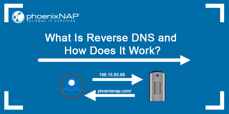 What is reverse DNS and how does it work?