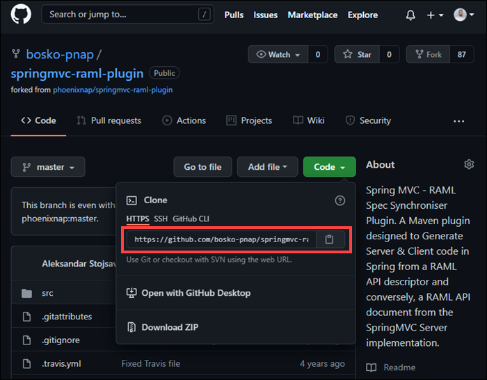 Find the repository URL on GitHub.