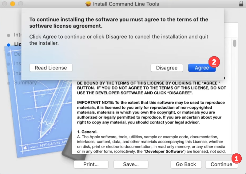 Install Xcode on macOS - step 2.