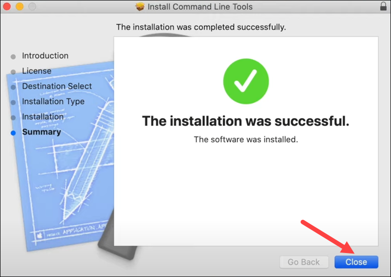 Install Xcode on macOS - step 4.