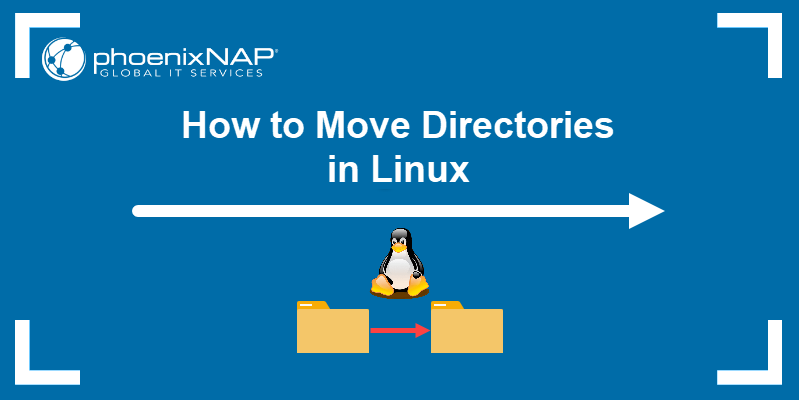How to move directories in Linux