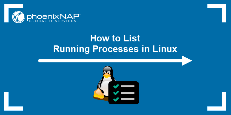 How to list running processes in Linux