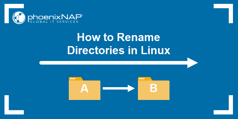 How to rename directories in Linux