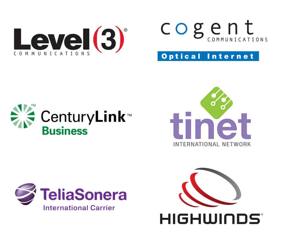 Server Carrier Logos