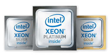 Intel Xeon Inside Platinum Gold Silver