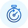 Tiempo de inactividad mínimo e impacto en el rendimiento y la productividad del usuario.