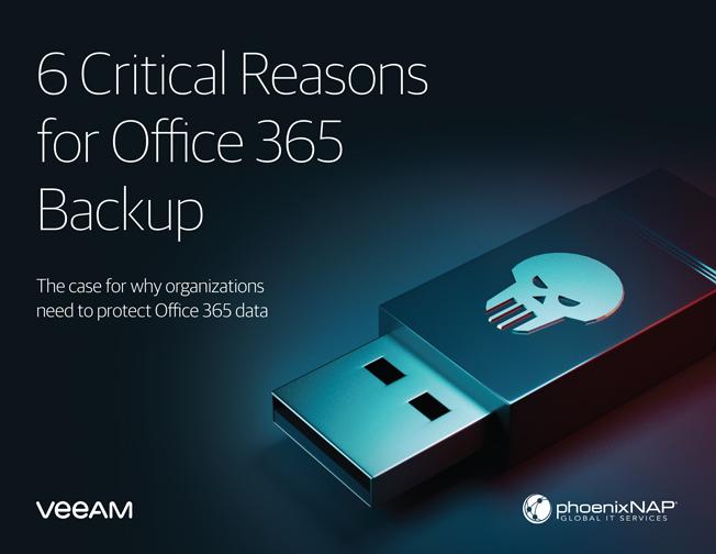 6 cruciale redenen voor Office 365 Backup