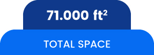 Total Space 71.000ft2